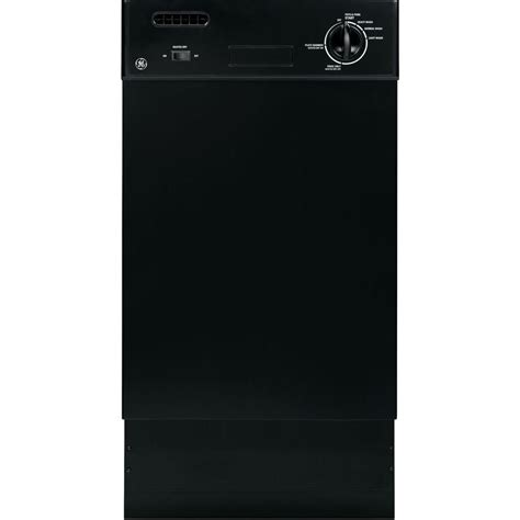 ge   front control dishwasher  black  stainless steel tub gsmfbb  home depot
