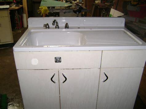 vintage metal sink cabinet 7 best vintage sink bases images on pinterest vintage