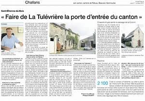 St Etienne Du Bois : la mairie de saint etienne du bois 85 a des projets pour la tul vri re vend ens chouans ~ Medecine-chirurgie-esthetiques.com Avis de Voitures