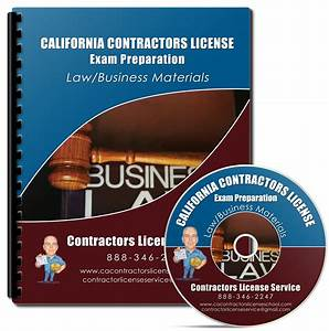 Law Business Contractors Exam Study Course 99  Passing Rate