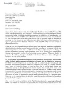 law resume format india zuccotti park owner s letter to police commissioner raymond kelly on occupy wall street public