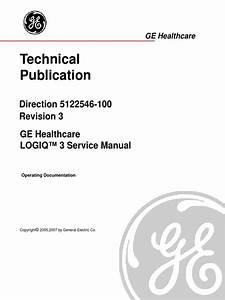Ge Logiq 5 Service Manual