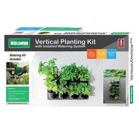 Greenwall Vertical Garden Kit by Holman Greenwall Vertical Garden Kit Bunnings Warehouse