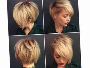 Coupe Mi Courte Femme 2017 : modele coiffure cheveux courts 2018 coiffure la mode ~ Nature-et-papiers.com Idées de Décoration