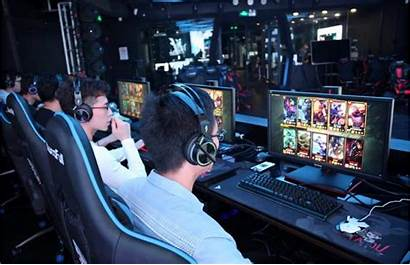 Esports Gaming Scene Asia Asian China Spawns