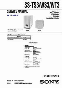 Sony Dav-sa30 Service Manual