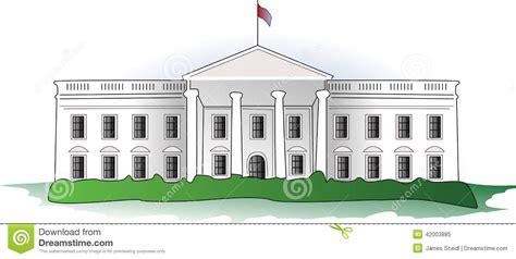 white house stock vector illustration  illustration