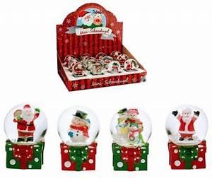 Mini Boule De Noel : mini boule no l neige 6 5cm mod les assortis destockage grossiste ~ Dallasstarsshop.com Idées de Décoration