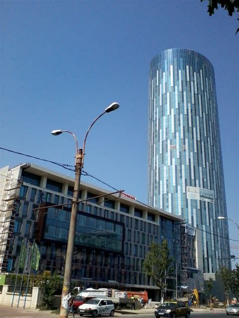 SkyTower, the Tallest Building in Romania
