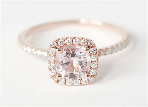unique engagement rings halo setting handmade weddings