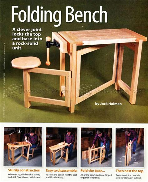 diy work benches space saving ideas  garage