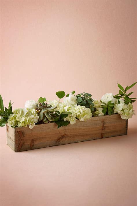 wooden box planters  bhldn love  idea  wooden