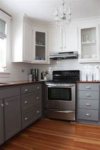 Kitchen Island Cabinet Design Stylish Two Tone Kitchen Cabinets For Your Inspiration Hative