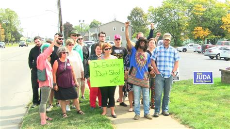 wham training protest outside locust club criticizes use of force