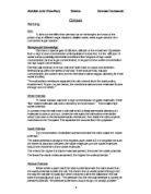 GCSE Biology - Osmosis Coursework - GCSE Science - Marked