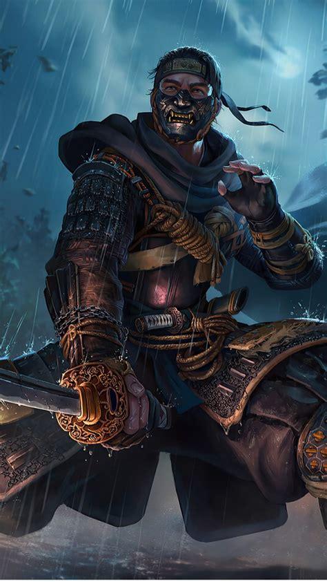 samurai ghost  tsushima  hd games wallpapers hd