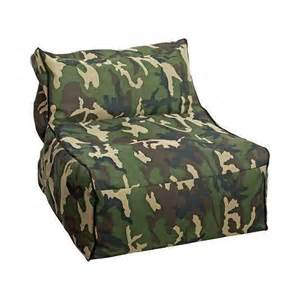 comfort research big joe camo armless chair product