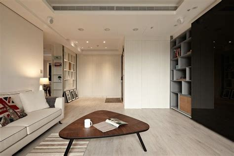Modern Apartment Design Maximizes Space Minimizes Distraction by Meister Floor 6303 Arctic White Floors Contemporary