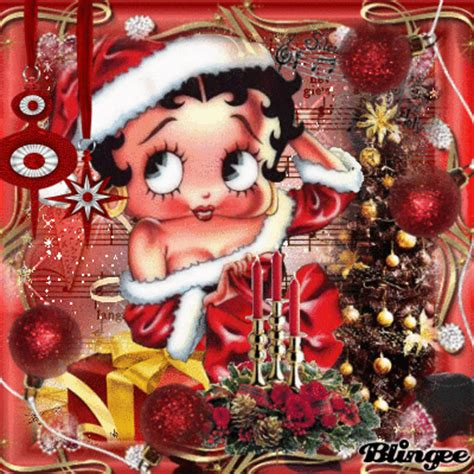 betty page under the christmas tree betty boop picture 103815096 blingee