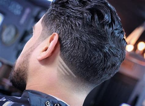 le degrade  la nuque coupe de cheveux homme