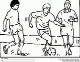 Football Coloring Colouring Drawing Printable Games Olympic Soccer Jersey Colorine Pleasing Clipart Colour Drawings Playing Paintingvalley Popular Clip Olympics Coloringhome sketch template