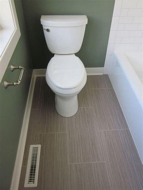 Bathroom Flooring Ideas Vinyl by Contemporary Small Bathroom With Vinyl Flooring Ideas