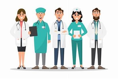 Nurse Doctor Cartoon Vector Characters Character Clipart