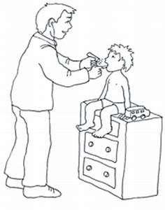Medical clipart child doctor - Pencil and in color medical ...