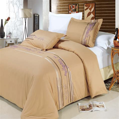 Cotton Duvet Sets King by Cecilia Gold King Cal King Duvet Cover Set 100