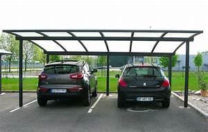Abri Voiture Brico Depot : carport abri 2 voitures cintr en aluminium par jlc ~ Edinachiropracticcenter.com Idées de Décoration