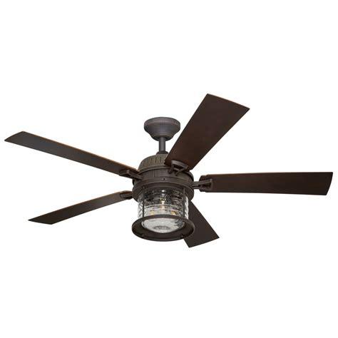 allen roth ceiling fan light bulb shop allen roth stonecroft 52 in rust indoor outdoor