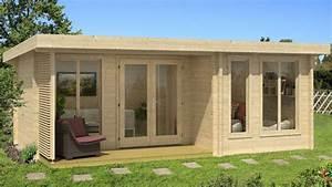 Chalet En Bois Habitable 20m2 : cabane habitable les cabanes de jardin abri de jardin ~ Dailycaller-alerts.com Idées de Décoration