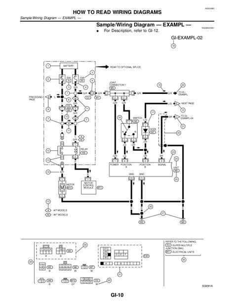 Xterra Wire Diagram by 2002 Nissan Xterra Service Repair Manual