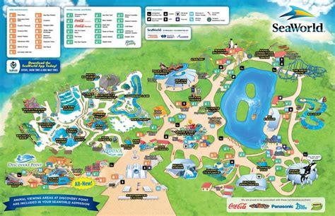 Experience the city's historical significance through. Seaworld San Antonio map - Map of Seaworld San Antonio ...