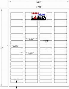 175quot x 5quot removable white labels laser inkjet labels With 3 5 x 2 labels