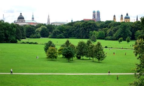 Englischer Garten Nearest Station by The Garden Englischer Garten Munich City Guide
