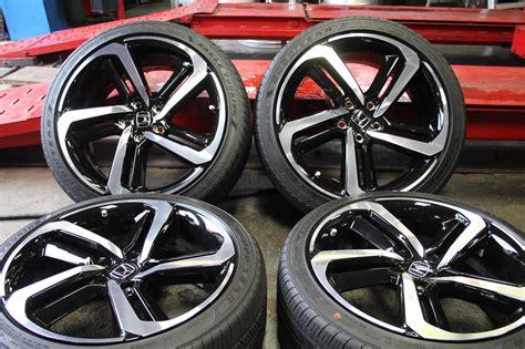 Cherry red honda accord goes through stylish transformation. 2018 Honda Accord Sport Rims Oem - Sport Information In ...