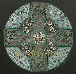Celtic Cross Y Groes Geltaidd Short Sleeved T Shirt Keltic