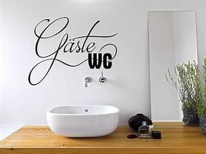 Bilder Gäste Wc : wandtattoo g ste wc t rschild schriftzug wandtattoo de ~ Markanthonyermac.com Haus und Dekorationen