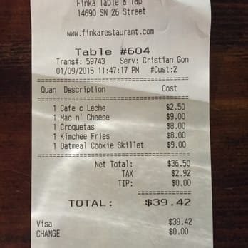 finka table and tap menu finka table tap can 39 t beat the price for all that
