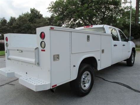purchase used 08 chevrolet 2500hd knapheide utility bed