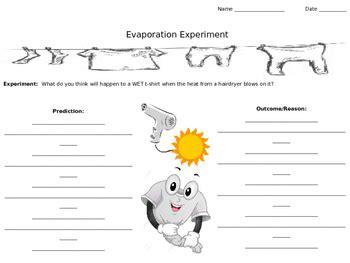 evaporation worksheet year 5 livinghealthybulletin
