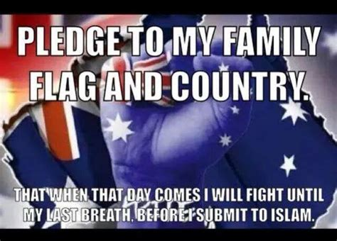 Anti Islam Memes - patriots defence league president allegedly spat on canberra driver islamophobia watch