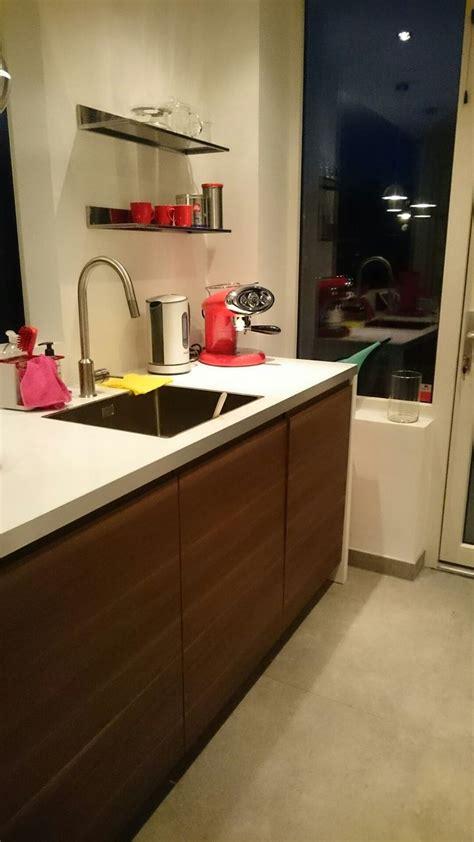 Ikea Voxtorp Walnut Kitchen  Keuken  Walnut Kitchen