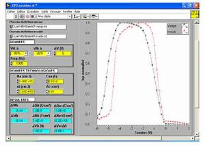Labview Front Panel For The Radiation Induced Parameters  The Program