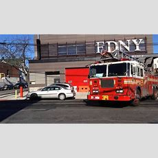 Fdny Ladder 39 Spare Responding From It's 233rd St Firehouse In The Wakefield Area Of Bronx