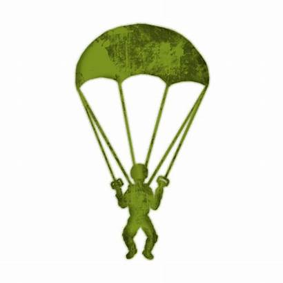 Clipart Parachute Paratrooper Army Background Transparent Parachuting