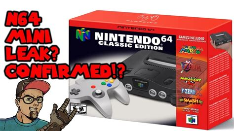 nintendo 64 classic edition confirmed leaked n64 list is it for real