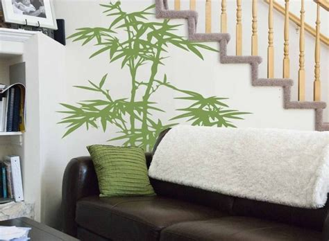 00s Home Decor : Lucky Bamboo Vinyl Wall Decor By Goatgrinstudio On Etsy