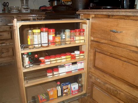 Pull Cabinet Spice Rack by Bloombety Small Cabinet Pull Out Spice Rack Cabinet Pull